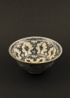 C13-3 Minyao ware bowl & spoon