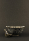 C13-5 Minyao ware bowl & spoon