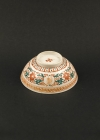 C15-3 Red green decorated bowls