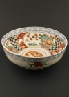 C28-1 Large Imari flower bowl