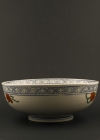 C28-3 Large Imari flower bowl