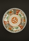 C28-4 Large Imari flower bowl