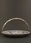 C33-3 Silver handle sweetmeat dish