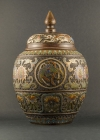 B2-2 Bronze champlevé vases