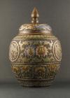 B2-3 Bronze champlevé vases