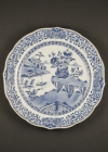 C40-4 Buddhist decor export plate