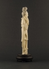 I2-2 Ivory statue of lady with organ
