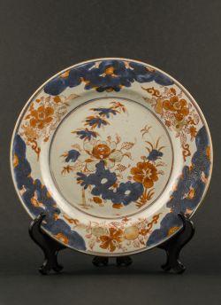 C14-1 Imari decorated plate