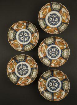 C17-1 Imari rice bowl set