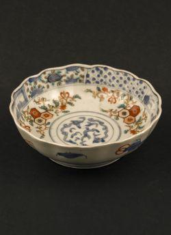 C5-1 Kakutomi Imari rice bowl