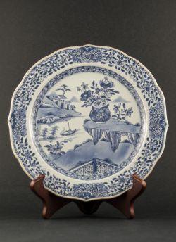 C40-1 Buddhist decor export plate